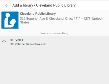 How to add a library in OverDrive for Android and Fire tablets