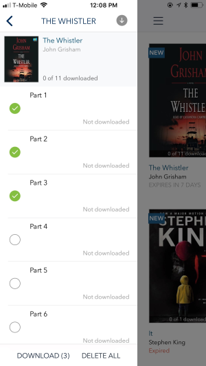 An Audiobook Isn T Downloading In Overdrive For Ios Iphone