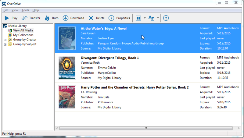 for how audiobooks books to using overdrive