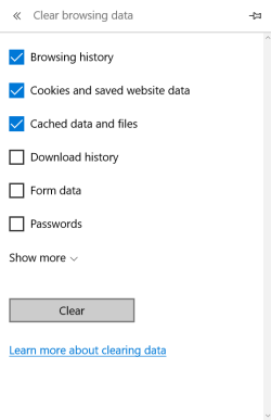How to clear your browser's cache on a computer